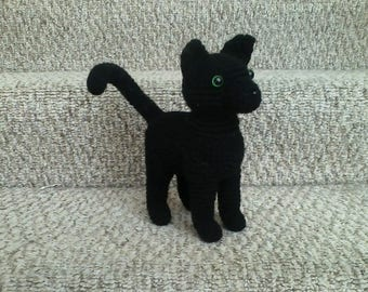 Plush Crochet Cat