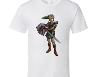 Link The Legend Of Zelda Video Game Character T Shirt