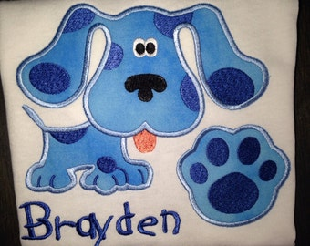 Blues Clues personalized shirt