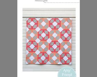Melon Ice Quilt Pattern --PDF