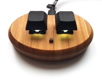 FTmini ver2. mini keyboard keypad 3key for osu! LED (eco bamboo)