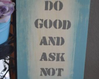 Yiddish Proverb Sign
