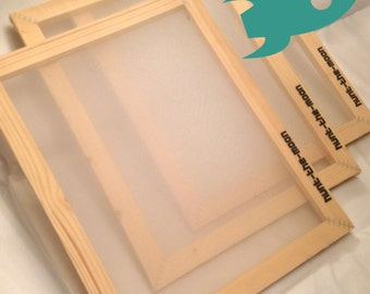 Hunt The Moon - Budget Screenprinting Frames Silk Screens - A5 A4 A3 A2 Choose Mesh