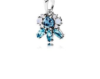 Authentic Pandora  Frost Multi-Color Crystal Pendant 390391NMBMX