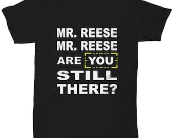 Person of Interest  T-Shirt Black