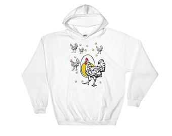Roseanne Chicken Hoodie Sweatshirt