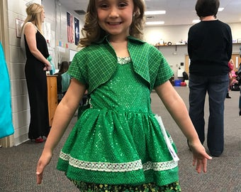 St Patricks Day costume or pageant dress
