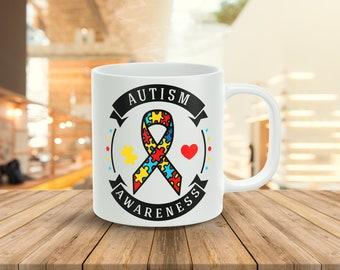 Autism Awareness... 11oz Coffee Mug