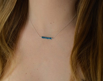 Apatite necklace * and fine chain