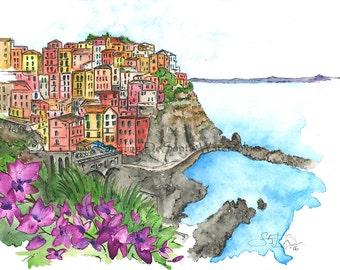 The Coastline – Cinque Terre, Italy