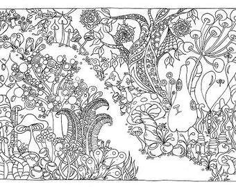 The Path - Colouring Sheet