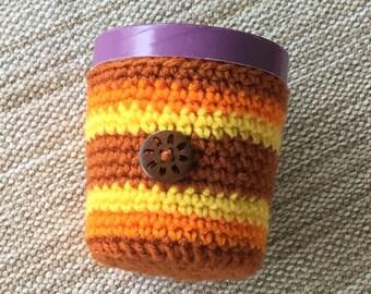 Crochet Pint Size Ice Cream Cozy