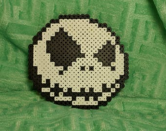 Jack Skellington from The nightmare before Christmas Pixel beads