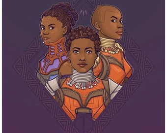Wakanda Women Postcard (Item 09-422)