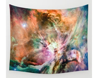 Orion Nebula, Wall Tapestry, Space Tapestry, Wall Hanging, Galaxy Nebula Stars, Space Wall Art, Large Photo Wall Art, Home Decor