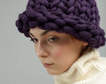 Chunky merino hat