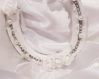 Wedding brides real worn lucky horseshoe