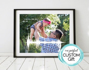 Gift for Dad, For Him, For Men, Gift from Kids, First Fathers Day Gift from Baby, For Dad to Be, Gift from Daughter, Personalized Dad Gift