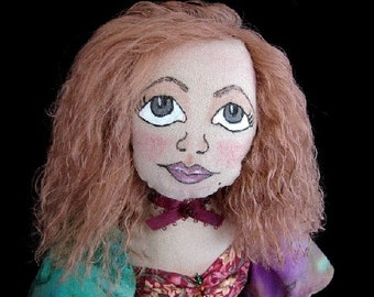 Art Doll-Charlotte-(Made to Order Similar Doll by Request)