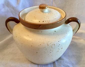 Laurentian Pottery Bean Pot / Casserole