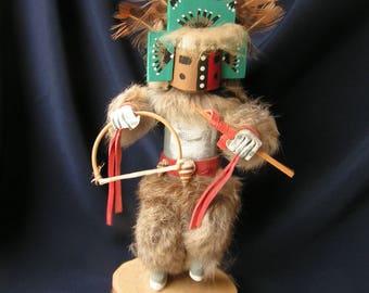 Vintage MASKED HEMEZ Kachina Doll