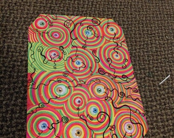 All seeing eyes 9x12