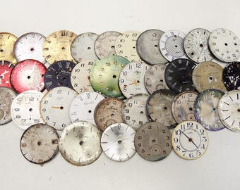 Shabby Watch Faces - set of 35 - c4