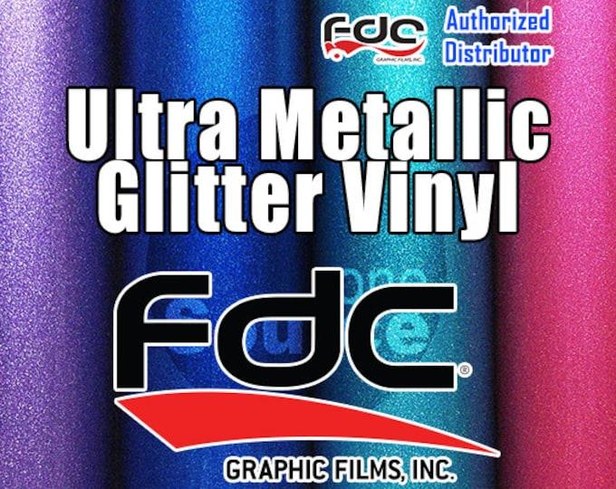 "5PK / 9""x 24"" NEW / FDC® 3700 Premium Ultra Metallic Vinyl Film"