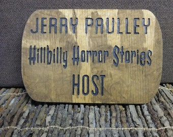 Name plaque - Custom - Stained - Painted
