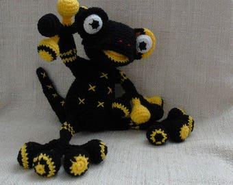 Tutorial crochet salamander