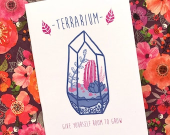 Zine- Terrarium: Give Yourself Room to Grow