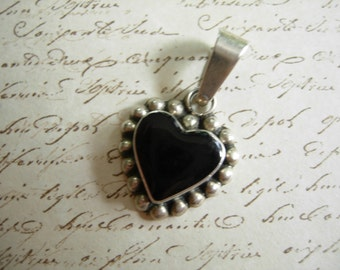 vintage Mexican sterling pendant