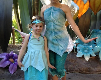 PERIWINKLE Inspired Sweetheart Dress from Tinker Bell Secret of the Wings
