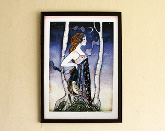 Limited Edition Print - Night Owl 3/10