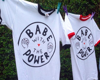 Babe with the Power / Tee / T-shirt / Feminist / Girl Power / David Bowie / Labyrinth
