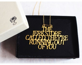 Jerkstore Called Necklace