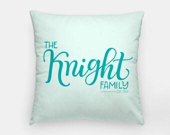 Pillow - Family name - Custom color