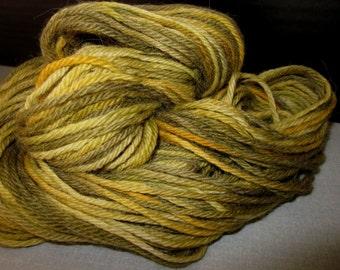 Handpainted Baby Alpaca Merino Yarn ( Camouflage Gnome) 100 yds 91.4 grams