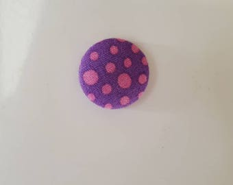 Purple spotted magnet