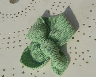 baby green scarf
