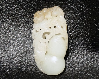 RESERVED  Hetian Jade Pendant Qing Dynasty 18th-19th Century