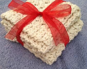 SXPHW Kitchen Dishcloth cotton crochet washcloth