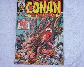 Marvel Conan The Barbarian comic lot of #28 #41 1973 1974 vintage