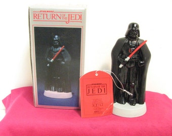 Darth Vader ROTJ Sigma Porcelain Figurine NMIB in Box ca: 1983, Vintage Star Wars Return of the Jedi Figure by Towle