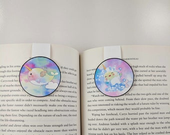 Narwhal Magnetic Bookmarks