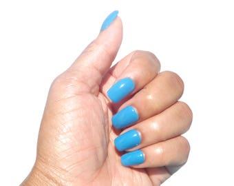 Blue Nail Polish- You Blue Me Away