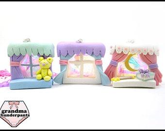 Dreamy Pastel Window Necklace, Yumekawaii, Magical Girl, Magical Boy, Dreamy Necklace, Kawaii