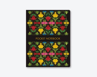 Pocket Notebook/Watercolor/Handmade/by Elisabeth Aranda