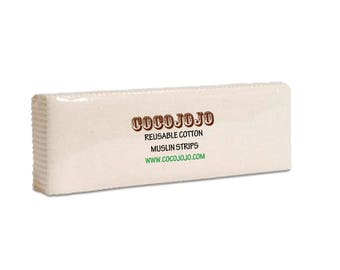 """1000 pc - 100% Egyptian Cotton Wax Strips for Sugaring 21x7cm 8.2""""x2.7"""""""