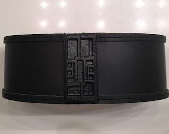 KYLO REN genuine leather belt prop  FULLY assembled
